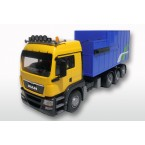 MAN TGS LX met afzet perscontainer