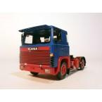 Scania 140 4x2 Blauw/Rood