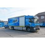 IMC Models GMB Mercedes-Benz Actros StreamSpace 4x2 Box Truck with Drawbar Trailer