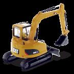 IMC Models Cat 308C CR Hydraulic Excavator