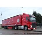WSI Dilissen Logistics; VOLVO FH4 GLOBETROTTER 4X2 CURTAINSIDE TRAILER - 3 AXLE