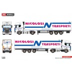 WSI Nicolosi Trasporti; SCANIA R HIGHLINE | CR20H 4X2 REEFER TRAILER - 3 AXLE
