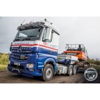 IMC Models Galt Transport Mercedes-Benz Arocs 6x4 with 3 axle Semi Lowloader
