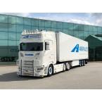 WSI Angvik Auto; SCANIA S HIGHLINE | CS20H 6X2 TAG AXLE REEFER TRAILER - 3 AXLE