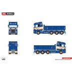 WSI Erling Andersen; SCANIA R NORMAL CR20N 8x2 TAG AXLE HOOKLIFT SYSTEM + HOOKLIFT CONTAINER 15M3