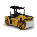 IMC Models CAT CB-13 Tandem Vibratory Roller with ROPS
