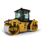 IMC Models CAT CB-13 Tandem Vibratory Roller with Cab