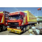 WSI De Drieban Transport; DAF 3300 SPACE CAB 4X2 CURTAINSIDE TAILER | CLASSIC - 3 AXLE