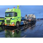 WSI Nordic Crane Kynningsrud; SCANIA R HIGHLINE | CR20H 6X4 LOW LOADER - 3 AXLE