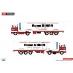 WSI Rene Bihan; VOLVO F88 4x2 CLASSIC REEFER TRAILER - 3 AXLE