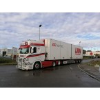 WSI Erwin Smale; SCANIA R HIGHLINE | CR20H 6X2 TAG AXLE REEFER TRAILER - 3 AXLE