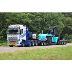 WSI Van Wijgerden; VOLVO FH4 GLOBETROTTER 8X4 LOW LOADER 4 AXLE | DOLLY 2 AXLE