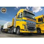 IMC Models Ter Linden Volvo FH04 Globetrotter 8x4 with Nooteboom MCO109-07V