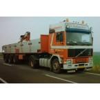 WSI Huskens; VOLVO F16 4x2 BRICK TRAILER - 3 AXLE