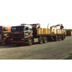 WSI Hendriks Lobith; DAF 3300 6X4 BRICK TRAILER - 3 AXLE