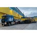 WSI Zürcher; MERCEDES-BENZ AROCS MP4 2.300M STREAM SPACE 8X6 LOW LOADER EURO - 4 AXLE   DOLLY - 2 AXLE (without excavator load)