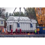 IMC Models Heavy Transformer with Lifting Cables