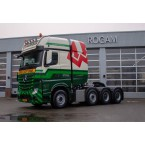 IMC Models Westdijk Mercedes Benz Actros 8x4 heavy Duty Truck
