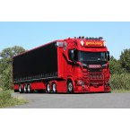 WSI Raymackers; SCANIA S HIGHLINE | CS20H 6X2 TAG AXLE CURTAIN SIDE TRAILER - 3 AXLE