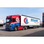 WSI Rygaard; SCANIA R HIGHLINE | CR20H 6X2 TAG AXLE CURTAINSIDE TRAILER - 4 AXLE