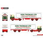 WSI Ken Thomas; SCANIA 1 SERIES 4X2 REEFER TRAILER CLASSIC - 2 AXLE