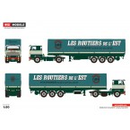 WSI Bomo; SCANIA 1 SERIES 4X2 CURTAINSIDE TRAILER | CLASSIC - 3 AXLE