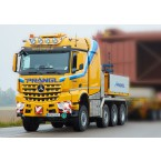 WSI Prangl; MERCEDES-BENZ AROCS MP4 2.300MM STREAM SPACE 8X6 LOW LOADER - 5 AXLE | DOLLY - 3 AXLE