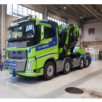 WSI Nordic Crane Nord; VOLVO FH 4 SLEEPER CAB 8X2 TAG AXLE FASSI 1100 | JIB