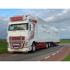 WSI Brandhoff Transport; VOLVO FH4 GLOBETROTTER XL 6X2 TAG AXLE COMBI - 5 AXLE