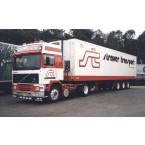 WSI Straver Transport; VOLVO F12 GLOBETROTTER 4X2 REEFER TRAILER - 3 AXLE