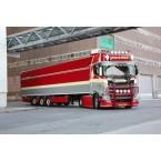 WSI Faasse Transport; SCANIA S HIGHLINE I CS20H 4X2 BOX TRAILER - 3 AXLE
