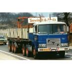 WSI Berns; FTF F SERIE (OLD CAB) 6X4 BRICK TRAILER - 3 AXLE