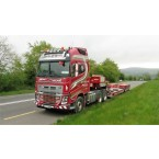 WSI John O'Neill Volvo FH4 Globetrotter XL Nooteboom Dieplader (4as) & Interdolly (2as)