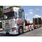 WSI NICOTRANS TP; SCANIA S HIGHLINE | CS20H 6X4 SEMI LOW LOADER | RAMPS - 4 AXLE