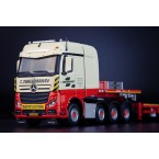 IMC Models Zwagerman Mercedes-Benz Actros Bigspace 8x4 with Nooteboom MCO Semi Low Loader 8 axle (32-0083)